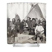 Pine Ridge Reservation Shower Curtain