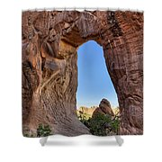 Pine Tree Arch - D004090 Shower Curtain