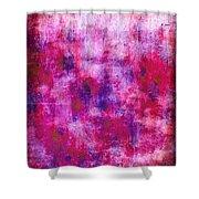 Pink Blueberries Shower Curtain