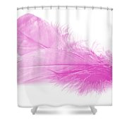 Pink Doubles Shower Curtain
