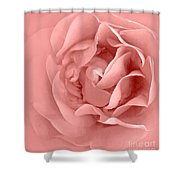Pink Fluff Shower Curtain