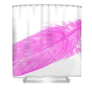 Pink Goose Shower Curtain