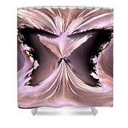 Pink Ice Shower Curtain