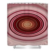 Pink Vortex Shower Curtain