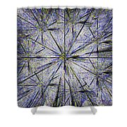Pins And Needles Shower Curtain