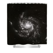 Pinwheel Galaxy, M101 Shower Curtain by Science Source