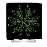 Pinwheel II Shower Curtain