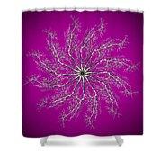 Pinwheel IIi Shower Curtain