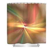 Pinwheel Shower Curtain