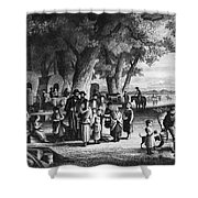 Pioneer Camp Shower Curtain