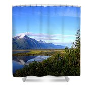 Pioneer Peak Shower Curtain