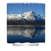 Pioneer Reflected Shower Curtain