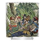Pirate Crew Shower Curtain