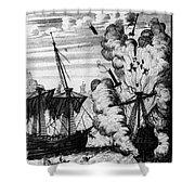 Pirate Ships Shower Curtain
