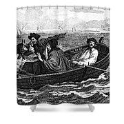 Pirates, 18th Century Shower Curtain