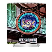 Pirates Alley Cafe Shower Curtain by Bill Cannon