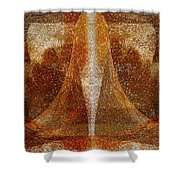Pistil Shower Curtain by Christopher Gaston