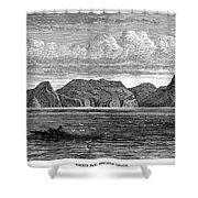Pitcairn Island, 1879 Shower Curtain