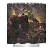 Pittsburgh: Furnaces, 1885 Shower Curtain