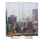 Pittsburgh Skyline Shower Curtain