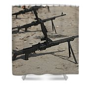 Pk General-purpose Machine Guns Stand Shower Curtain