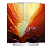 Place In Paradise Shower Curtain
