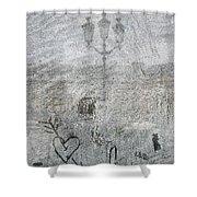 Place Vendome. Paris. France. Europe Shower Curtain