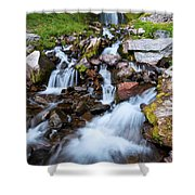Plaikni Falls Shower Curtain