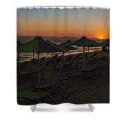 Plaka - Naxos Shower Curtain