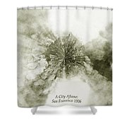 Planet Wee San Fransisco 1906 Fire Shower Curtain