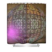 Planet X321z4 Shower Curtain