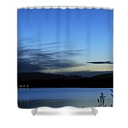 planetary conjunction Mercury Venus and the Moon I Shower Curtain