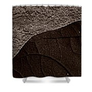 Plant And Mineral Shower Curtain
