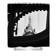 Plant Hall 1891 Shower Curtain
