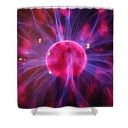 Plasma Shower Curtain