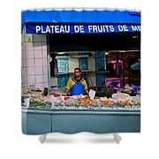 Plateau De Fruits De Mer Shower Curtain