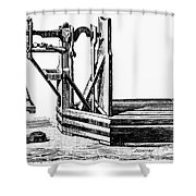Platform Scale, C1900 Shower Curtain