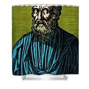 Plato, Ancient Greek Philosopher Shower Curtain