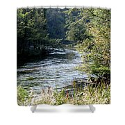 Platte River Shower Curtain