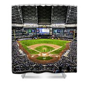 Play Ball 2012 Shower Curtain