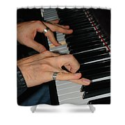 Play Me A Song Piano Man Shower Curtain