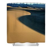 Play Of Light And Shadow Shower Curtain