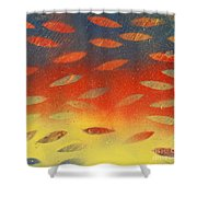 Playing Colorful Games Shower Curtain