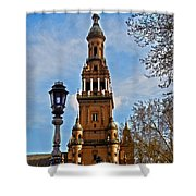 Plaza De Espana - Sevilla Shower Curtain