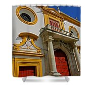 Plaza De Toros De La Maestranza - Seville  Shower Curtain