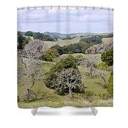 Pleasanton Ridge - North Shower Curtain