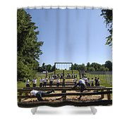 Plebes In The U.s. Naval Academy Class Shower Curtain