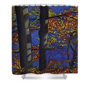 Plein Air 102 Shower Curtain