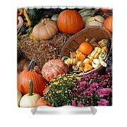 Plentiful Harvest Shower Curtain