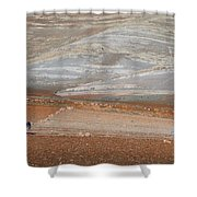 Ploughing In The Atlas Mountains Shower Curtain